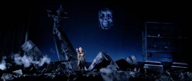 The impressionistic set for Verdi's Macbeth in Dario Argento's Opera (1987)