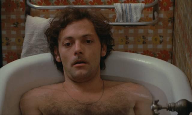 Franck Poupart (Patrick Dewaere) finds that reality isn't like his fantasies in Alain Corneau's Serie Noire (1979)