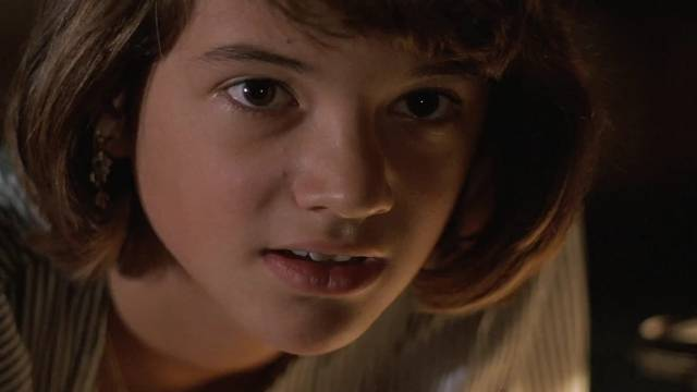 Adolescent Lotte (Asia Argento) is interested in the weird happenings in Michele Soavi's The Church (189)