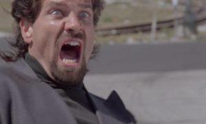 Cult henchman Francis (Daniel Green) gets mad in Sergio Martino's genre hybrid American Rickshaw (1989)