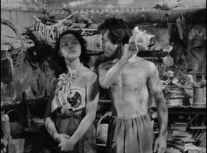 Jealousy threatens to become violence in Josef Von Sternberg's The Saga of Anatahan (1953)