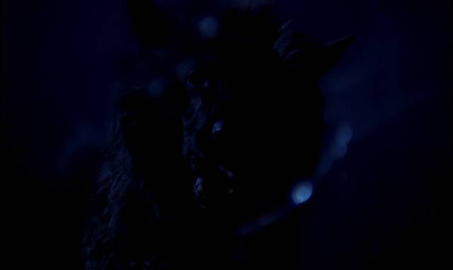 The beastly shaggy dog attacks in Paul Annett's The Beast Must Die (1974)