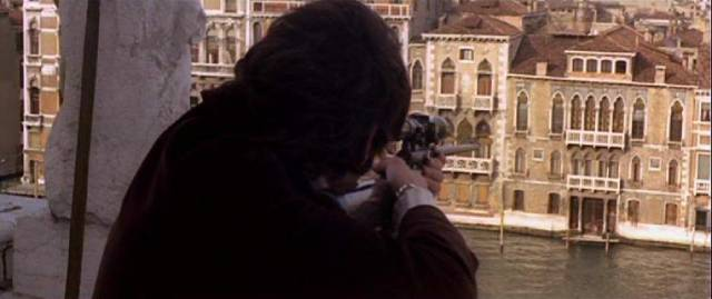 Stefano Augenti (Tomas Milian) is manipulated by Count Matteo Tiepolo (Pierre Clementi) into committing murder in Maurizio Lucidi's The Designated Victim (1971)