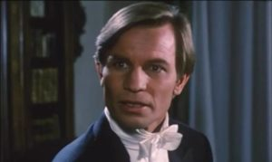 Michael York is Robert Dominici, a concert pianist with health problems in Ruggero Deodato's Phantom of Death (1988)