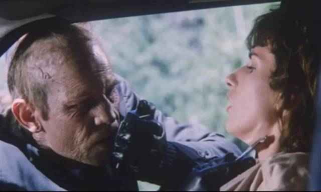 Robert Dominici (Michael York) is driven mad by his illness in Ruggero Deodato's Phantom of Death (1988)