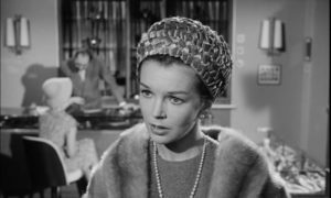 Abused wife Marian Menil (Dawn Addams) is more involved than she seems in Fritz Lang's The Thousand Eyes of Dr. Mabuse (1960)