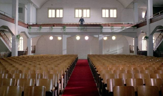 Rural churches turn out not to be places of comfort in Mike Hodges' Black Rainbow (1989)