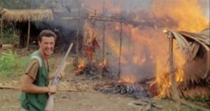 ... but if need be, he'll create his own atrocities for the camera in Ruggero Deodato's Cannibal Holocaust (1980)