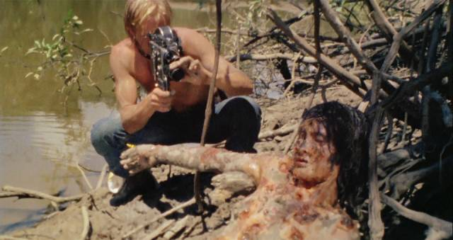 The deeper into the jungle, the worse it gets in Ruggero Deodato's Cannibal Holocaust (1980)