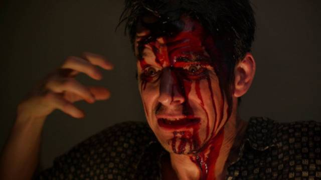 Art (Josh Phillips) is the real monster in Pete Schuermann's The Creep Behind the Camera (2014)