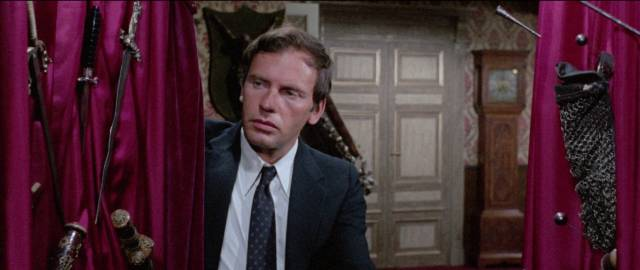 Businessman Jean-Louis Trintignant investigates his new neighbour in Umberto Lenzi's So Sweet ... So Perverse (1969)