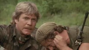 After surviving Vietnam, a group of friends fight for justice back home in Charles E Sellier Jr's The Annihilators (1985)