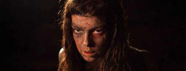 Pollyanna McIntosh is a formidable foe of bourgeois patriarchy in Lucky McKee's The Woman (2011)