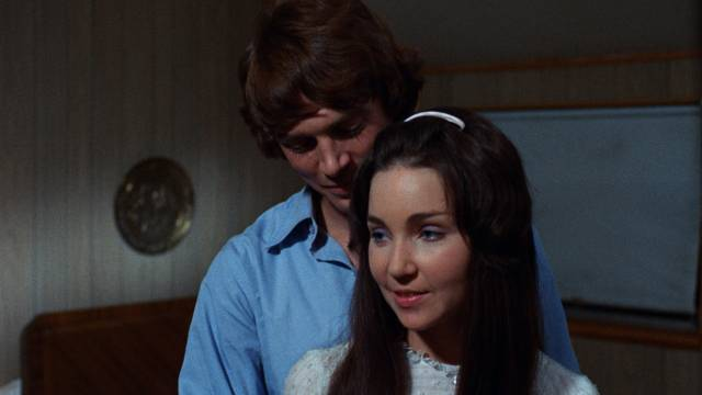Jamie (Marcia Forbes) keeps putting off sex with her husband Charlie (Harlan Cary Poe) in Stanley H. Brasloff's Toys Are Not For Children (1971)