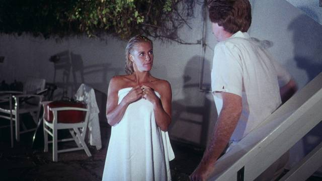 More than sibling affection between Robert Ginty and Belinda Mayne in Jean-Marie Pallardy's White Fire (1984)
