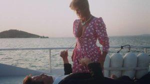 Bo (Robert Ginty) enjoys guilt-free ersatz incest with Olga (Belinda Mayne) in Jean-Marie Pallardy's White Fire (1984)