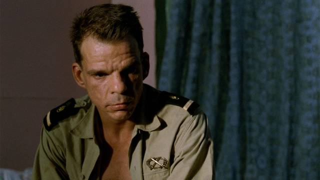 Master Sergeant Galoup is equally puzzled by his own behaviour in Claire Denis' Beau Travail (1999)