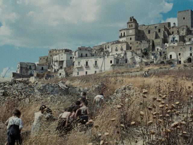 A southern Italian village virtually unchanged since the Middle Ages in Francesco Rosi's Christ Stopped at Eboli (1979)