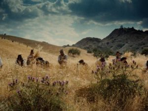 Peasant life, unchanged for centuries in Francesco Rosi's Christ Stopped at Eboli (1979)