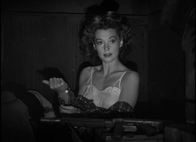 Lilli Palmer as Italian partisan Gina in Fritz Lang's Cloak and Dagger (1946)