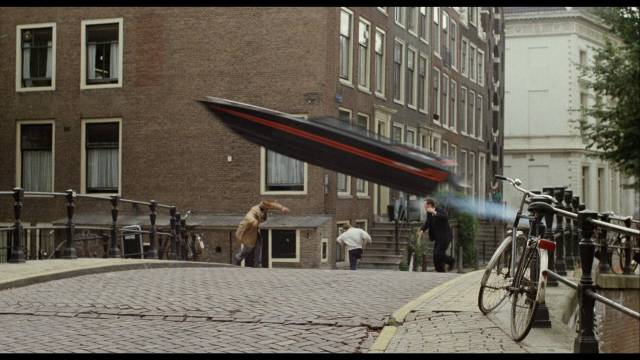If boats could fly ... the high-speed chase on Amsterdam's canals in Dick Maas' Amsterdamned (1988)