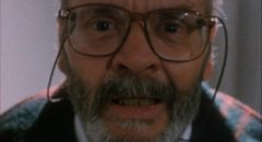 "Lucio Fulci as director ""Lucio Fulci"" going mad in Lucio Fulci's Cat in the Brain (1990)"
