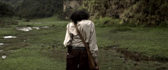 Candy (Daniel Tadesse) traverses diverse terrains on his quest in Miguel Llanso's Crumbs (2015)