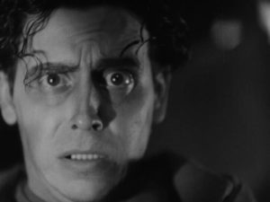 Javier (Carlos Villatoro) is driven mad by tragedy in Juan Bustillo Oro's Dos Monjes (1934)