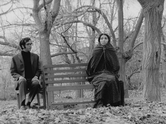The uncertainties of social contact between unmarried men and women in Bahram Beysaie's Downpour (1972)