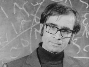 New teacher Hekmati (Parviz Fanizadeh) is uncertain how to maintain discipline in Bahram Beysaie'x Downpour (1972)