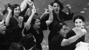 Lucia (Eslinda Nunez) joins the political fight in Humberto Solas' Lucia (1968)