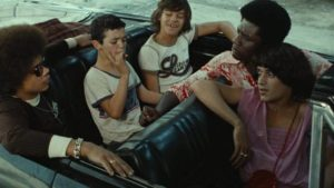 After escaping custody, a brief taste of freedom in Hector Babenco's Pixote (1980)