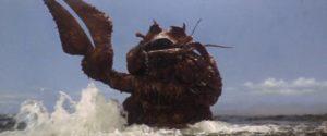 ... the big crustacean Ebirah ...