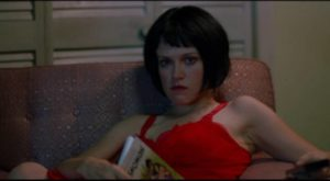 Ray Vargo's daughter Louise (Tricia Vessey) witnesses the hit in Jim Jarmusch's Ghost Dog: The Way of the Samurai (1999)
