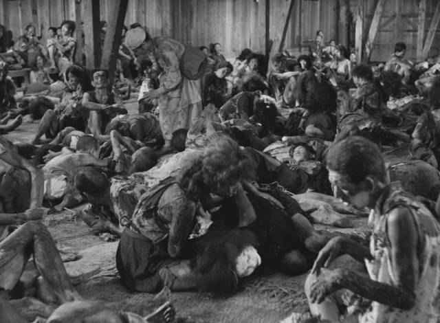 The sick and dying wait for help that doesn't come in Hideo Sekigawa's Hiroshima (1953)