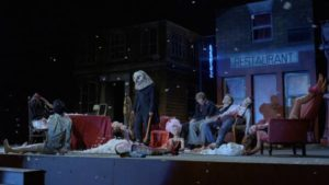 Rehearsals turn deadly in Michele Soavi's Stagefright (1987)