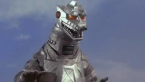 Big G's robot nemesis in Ishiro Honda's Terror of Mechagodzilla (1975)