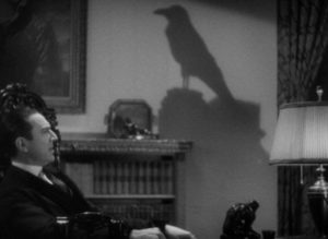 Dr. Richard Vollin (Bela Lugosi) has an obsession with all things Poe in Lew Landers' The Raven (1935)
