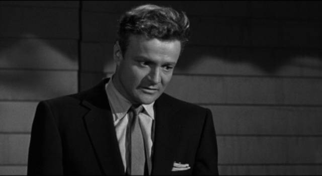 Troubled war vet Brick (Brian Keith) sees a way out his hopelessness in Phil Karlson's 5 Against the House (1955)