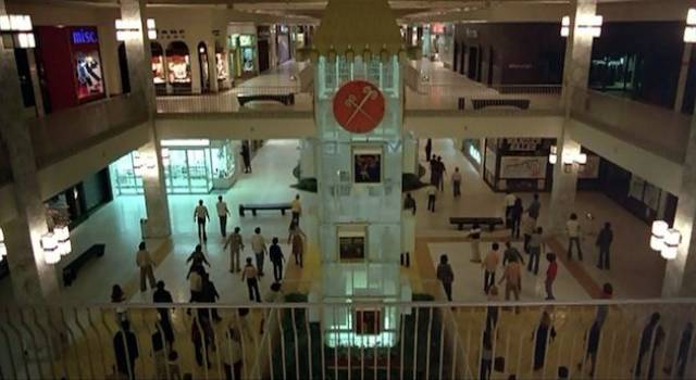 The dead remember their previous existence as consumers in George A. Romero's Dawn of the Dead (1978)