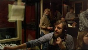 George A. Romero tries to control the chaos as director of a news show in his influential epic Dawn of the Dead (1978)