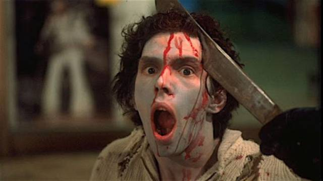 There's only one way - destroy the brain, destroy the zombie in George A. Romero's Dawn of the Dead (1978)