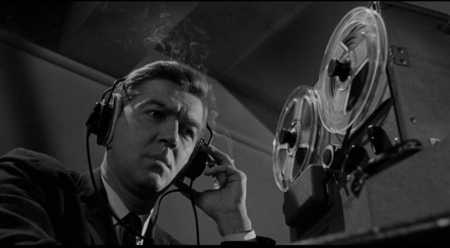 The FBI establish surveillance on Kelly Sherwood (Lee Remick) in Blake Edwards' Experiment in Terror (1962)