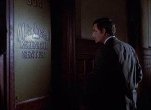 Psychologist Dr. David Sorell (Louis Jourdan) investigates what happened to Paul Varney (Bradford Dillman) in Paul Wendkos' Fear No Evil (1968)