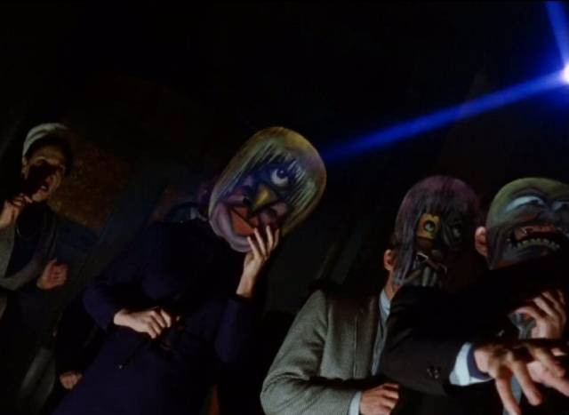 It turns out that Paul Varney (Bradford Dillman) had become involved with Satanists in Paul Wendkos' Fear No Evil (1968)