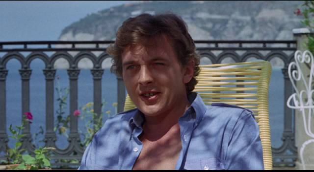 Former addict Tim Brett (David Hemmings) thinks his troubles are finally behind him in Richard C. Sarafian's Fragment of Fear (1970)