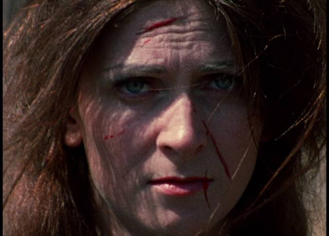 In the opening dream of George A. Romero's Season of the Witch (1972), Joan Mitchell (Jan White) feels her identity being erased