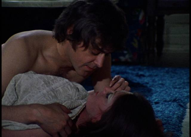Joan (Jan White) casts a spell to attract egotistical Gregg (Ray Laine) in George A. Romero's Season of the Witch (1972)