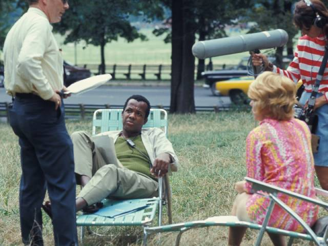 Relaxing between takes in William Greaves' Symbiopsychotaxiplasm: Take One (1968)