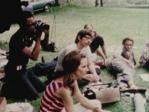 The grew discuss their doubts and concerns about the director in William Greaves' Symbiopsychotaxiplasm: Take One (1968)